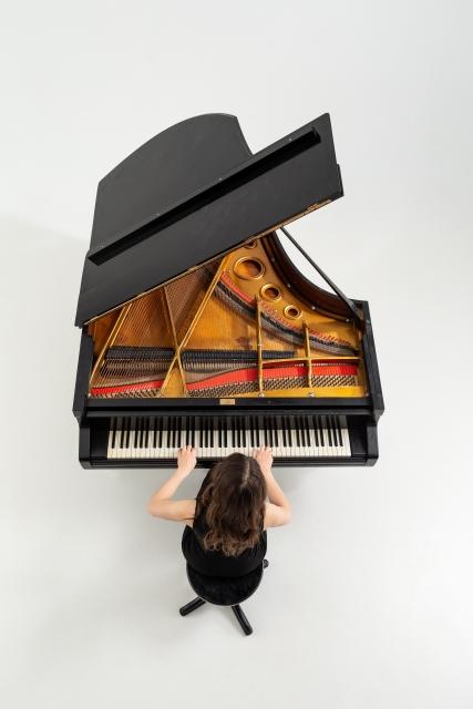 ピアノ俯瞰